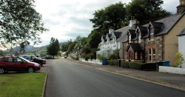 Tigharry Cottage is situated near the centre of Lochcarron village. The foreshore of Loch Carron is literally just across the road.
